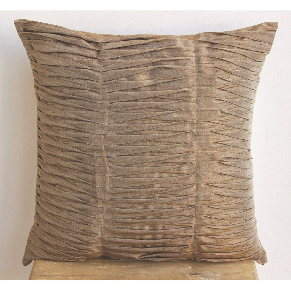 Best Decorative Throw Pillow Cover Couch Pillow Case 20 Inch Silk This Month