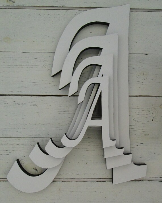 Best Decorative Wall Letters Large 16 Inch Wooden By This Month