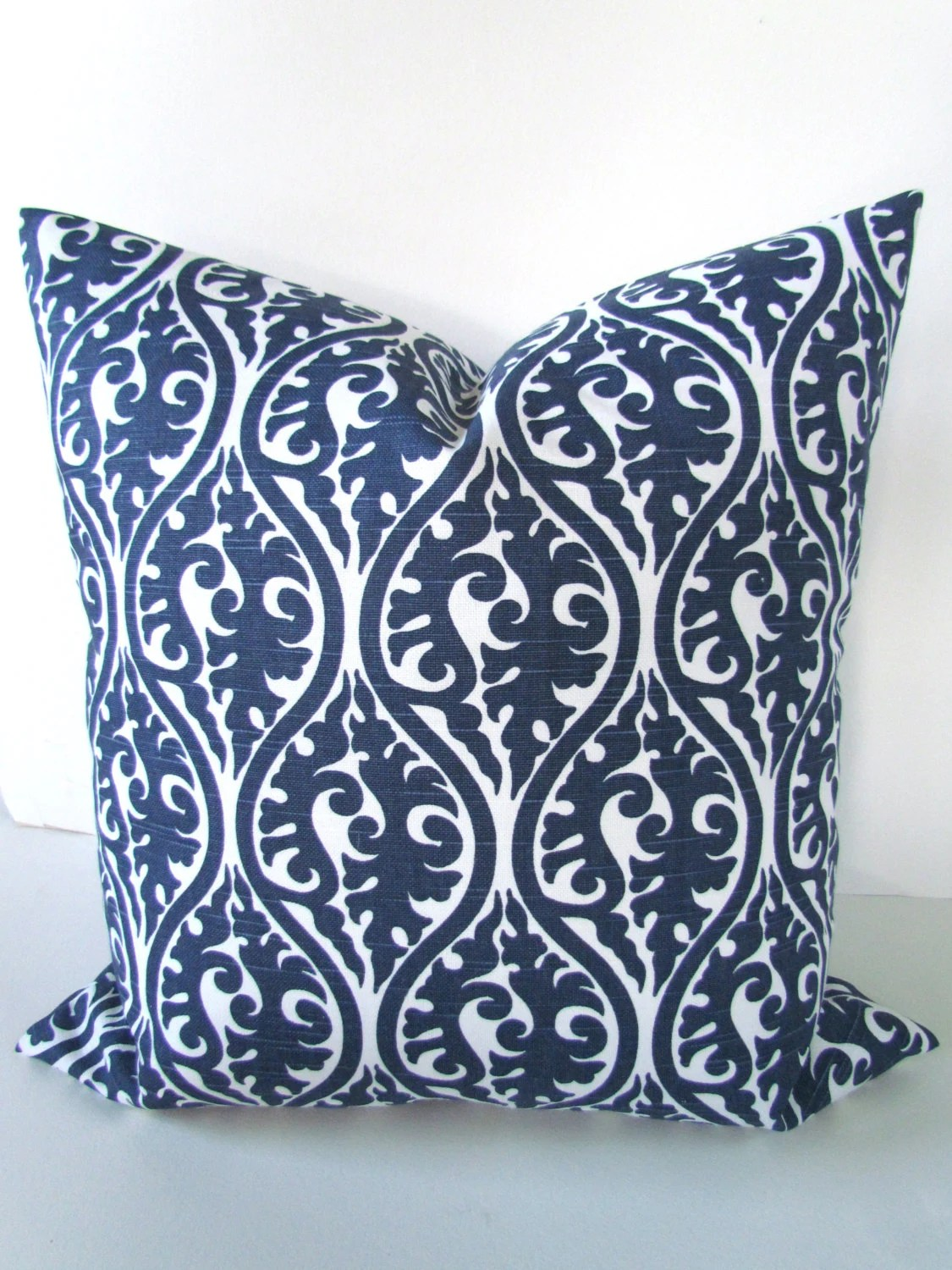 Best Navy Blue Pillows Blue Pillow Covers Blue Decorative Throw This Month