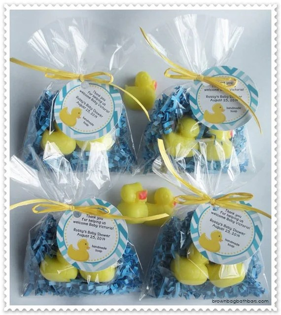 Best Yellow Duck Party Favors Rubber Ducky Baby Shower Favors Rub A This Month