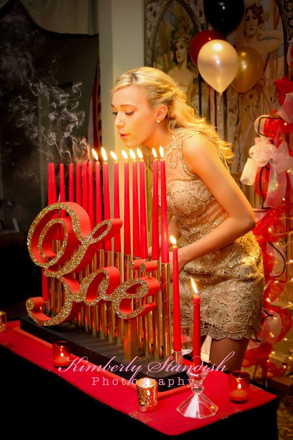 Best Sweet 16 Candelabras Mitzvah Candle Lighting Boards This Month