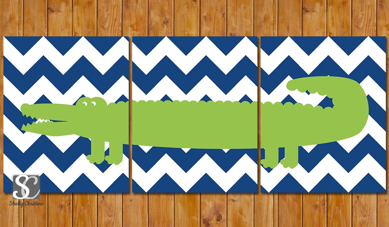 Best Instant Download Alligator Nursery Decor Wall Art By This Month