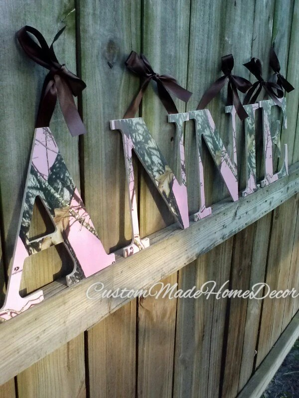 Best Realtree Camo Camoflauge Letters Nursery Hunter Wedding This Month