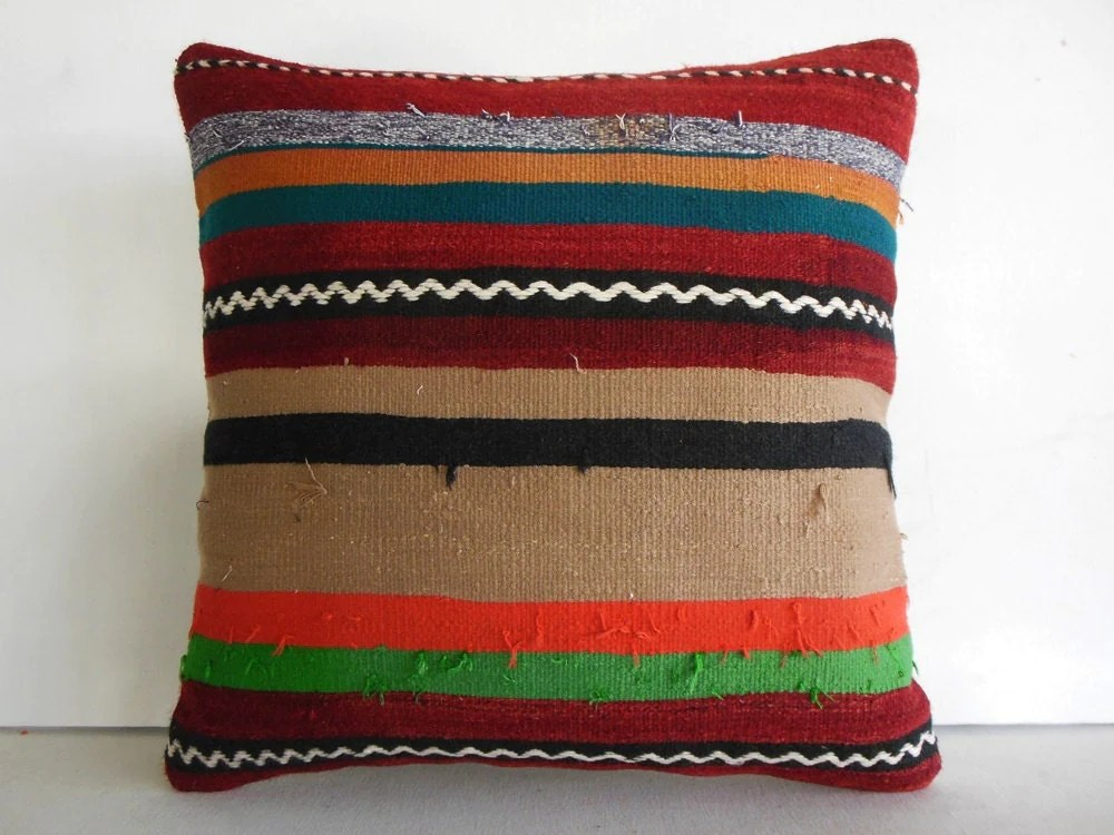 Best Extra Large Pillow Cover Large Throw Pillow Large Kilim Pillow This Month