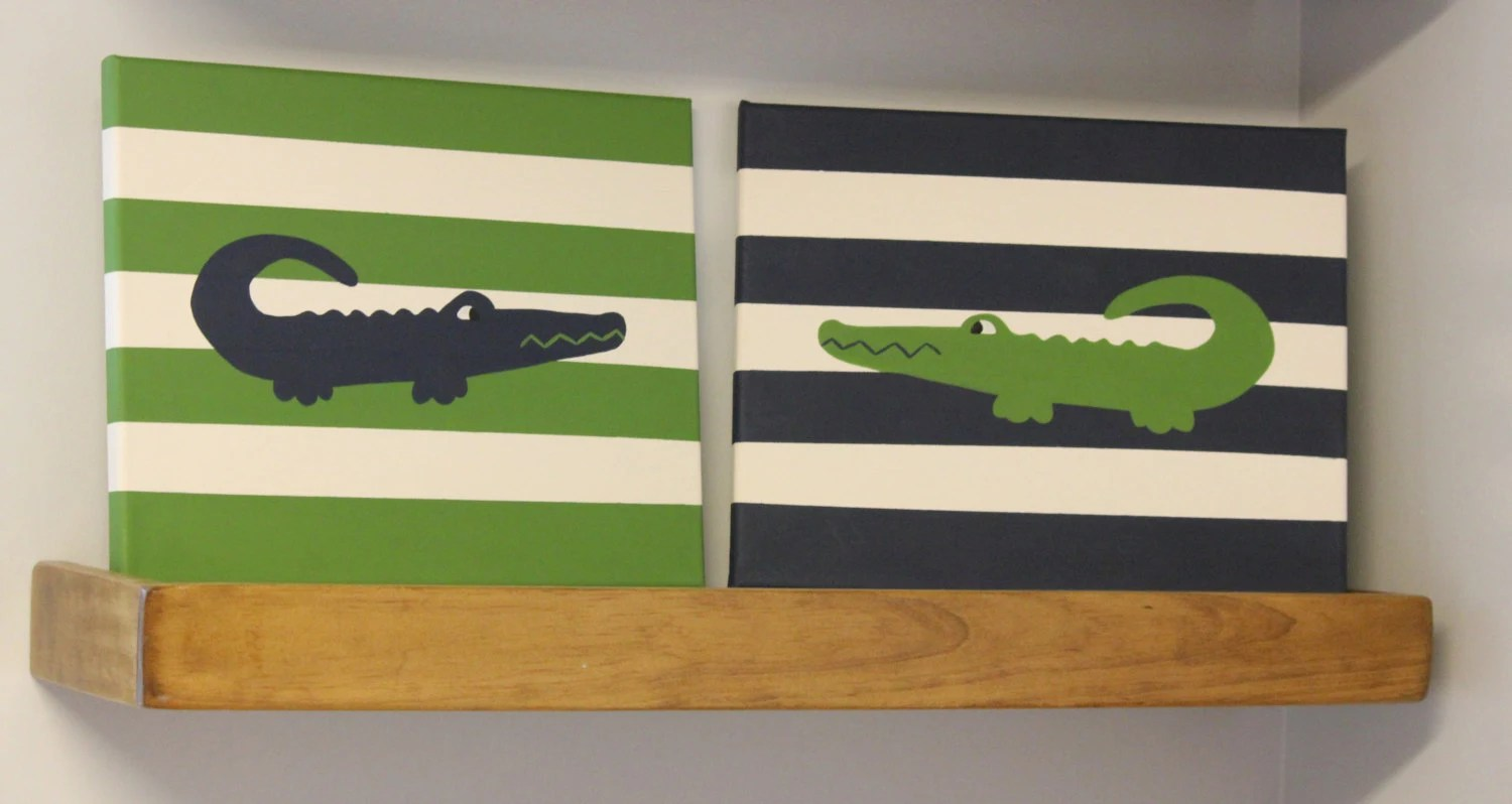 Best Alligator Nursery Painting Alligator Madras By This Month