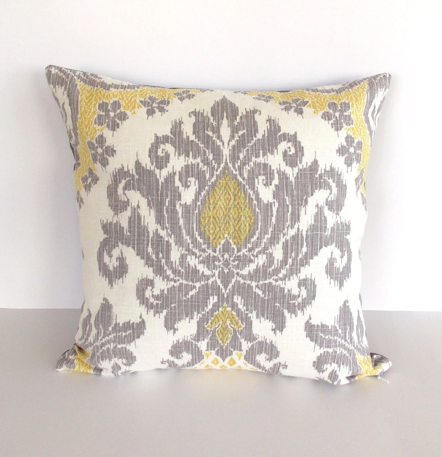 Best Yellow And Gray Accent Pillow Cover Yellow Throw Pillow This Month