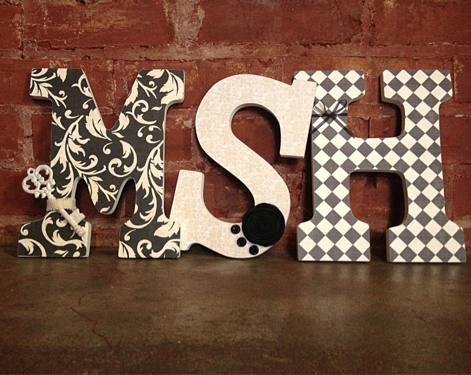 Best Custom Decorative Wooden Letters 3 By Lovelettersbyallifay This Month