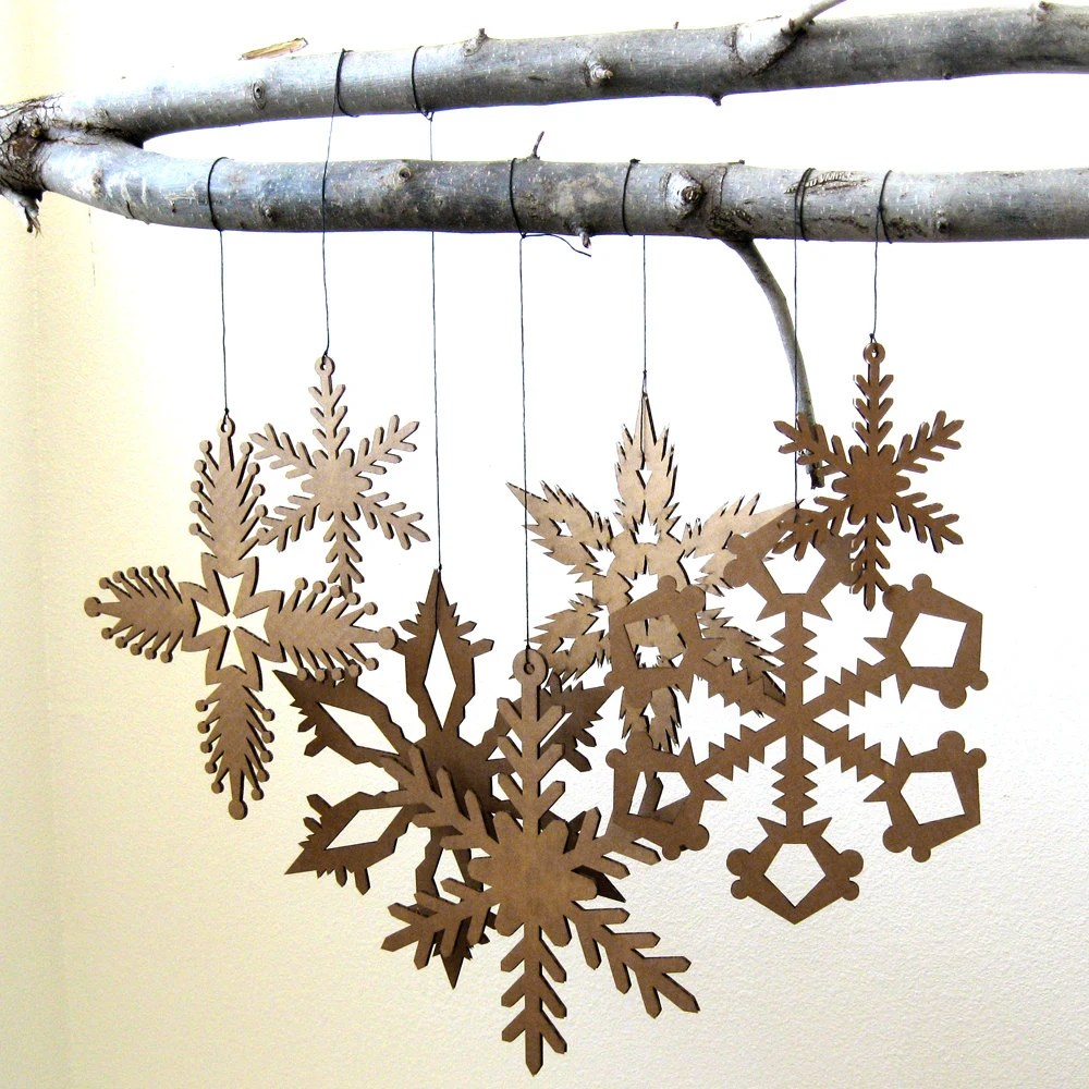 Best Large Hanging Snowflake Decorations Christmas By Fabparlor This Month