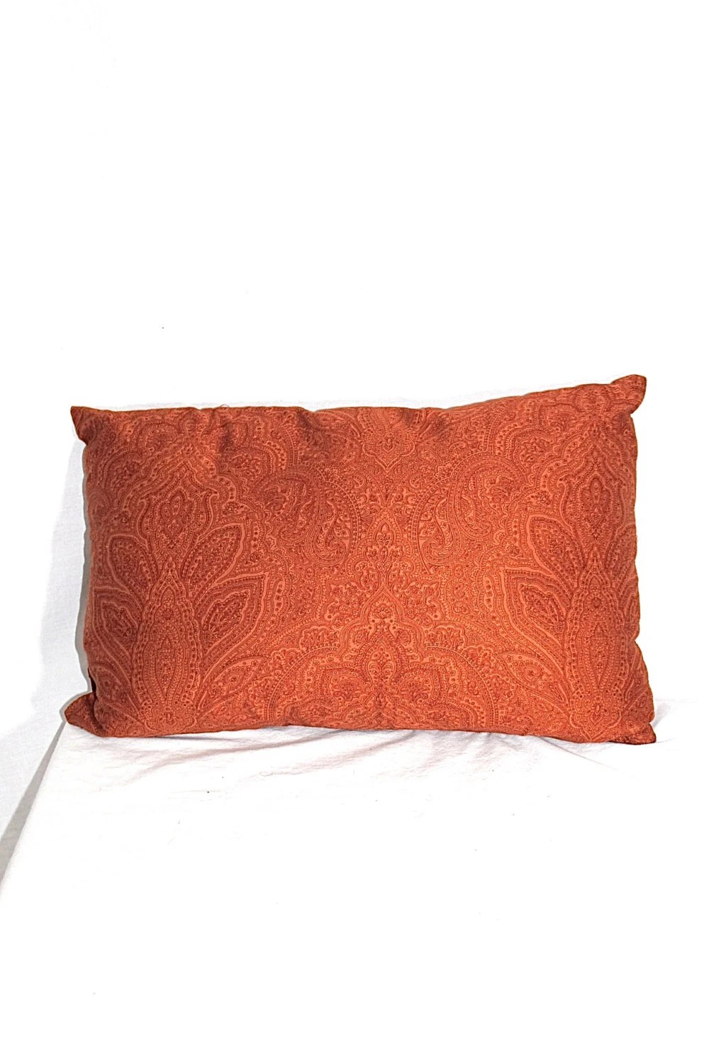 Best Orange Paisley Throw Pillow By Melrosecollective On Etsy This Month