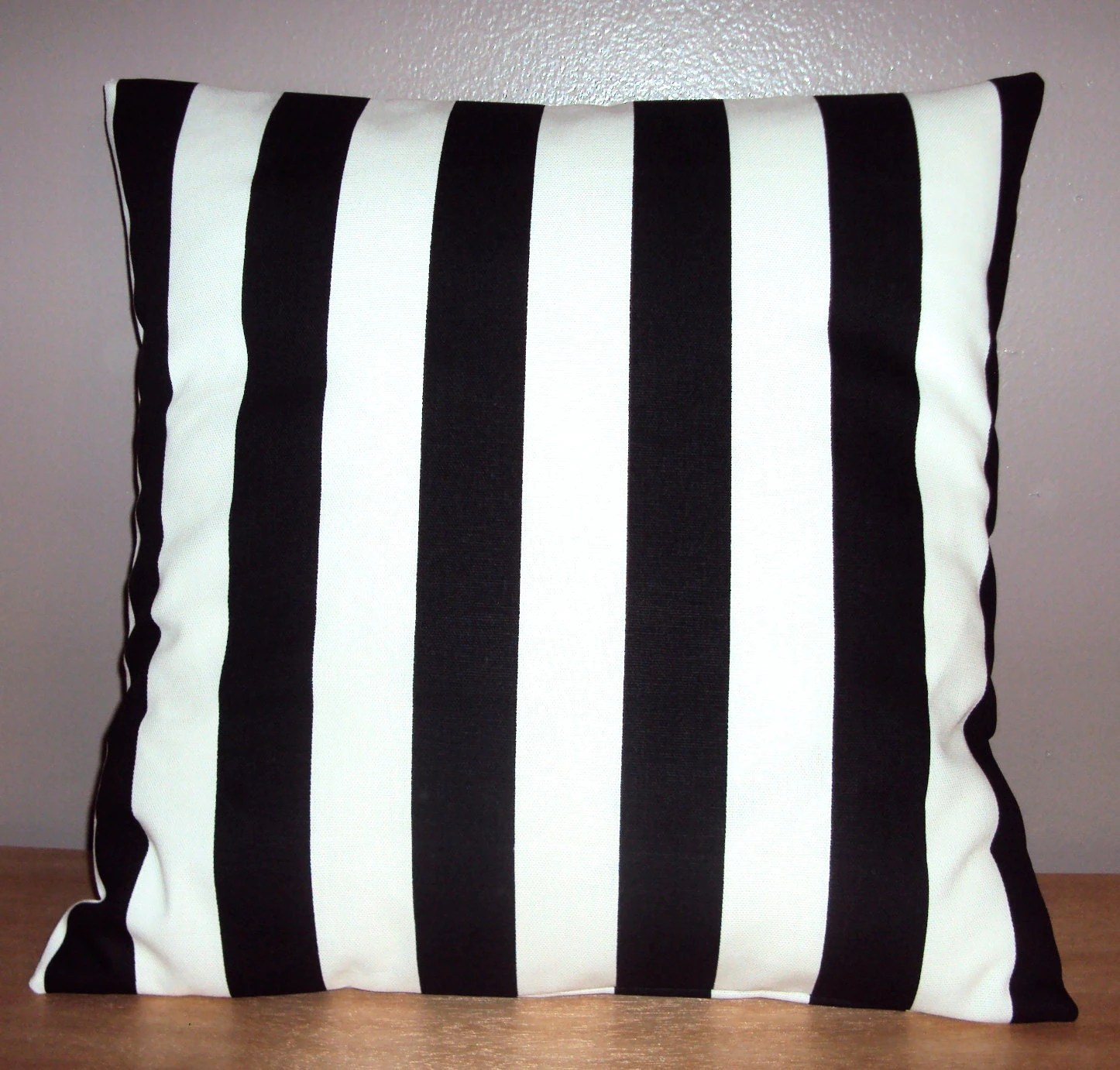 Best Black And White Stripe Decorative Pillow Cover Available In This Month