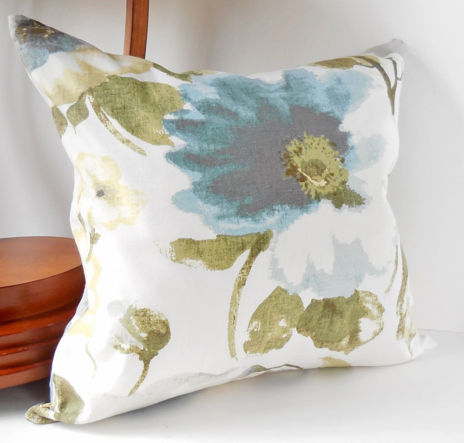 Best Pillows Decorative Throw Pillows Large Blue Beige And Gray This Month