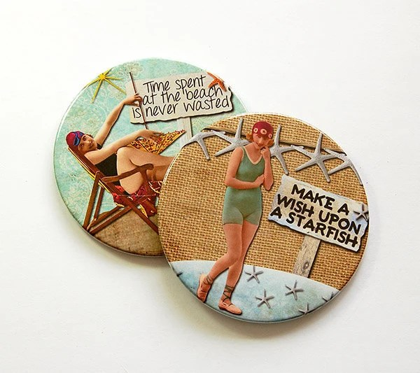 Best Beach Coasters Coasters Drink Coasters Beach Decor This Month