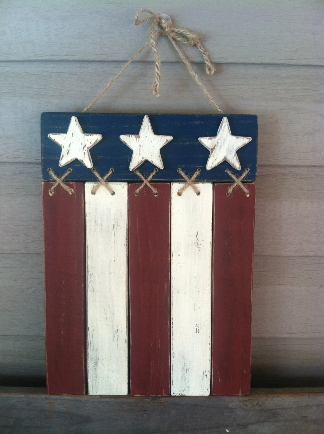 Best Items Similar To Americana Flag Door Hanger Wall Decor On Etsy This Month