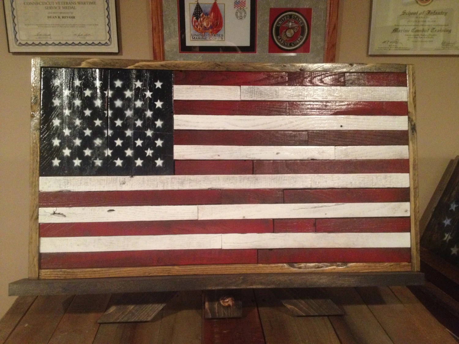 Best Small American Flag American Flag Rustic Decor By This Month