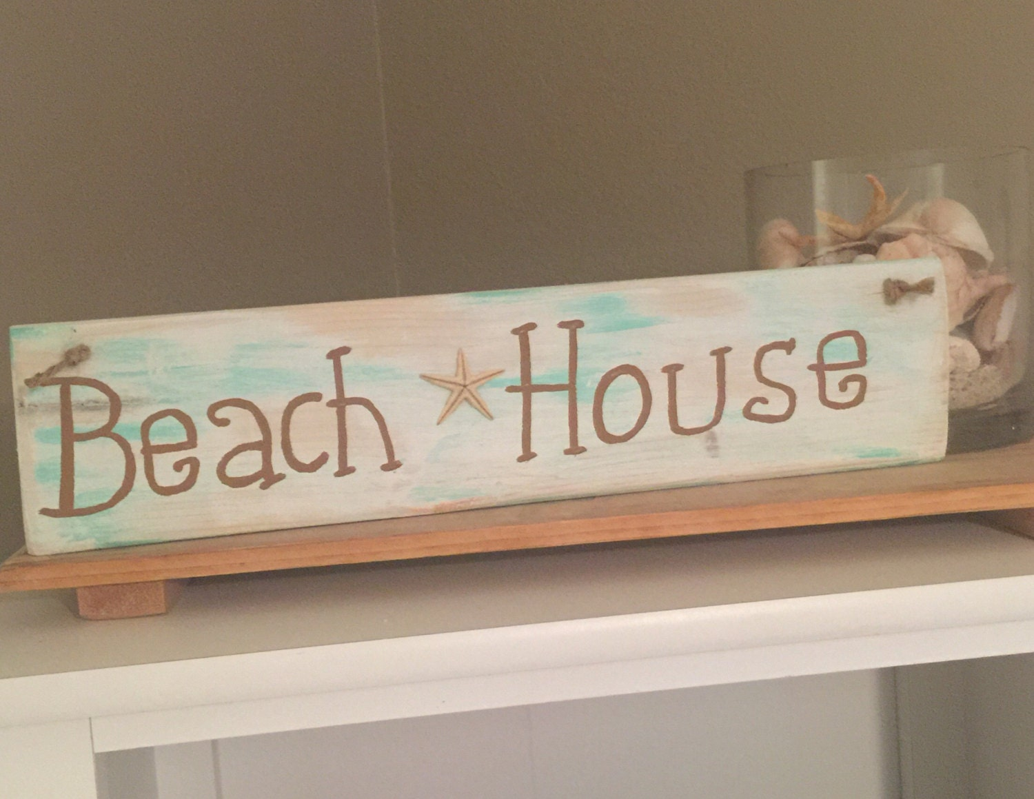 Best Beach House Wooden Sign Wood Beach Signs Beach Decor Shabby This Month