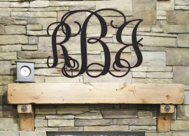 Best Initial Monogram Wall Decor Wooden Monogram Wall Hanging This Month