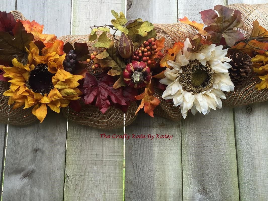 Best Fall Garland Fall Decorations Fall Decor Fall Swag Fall This Month