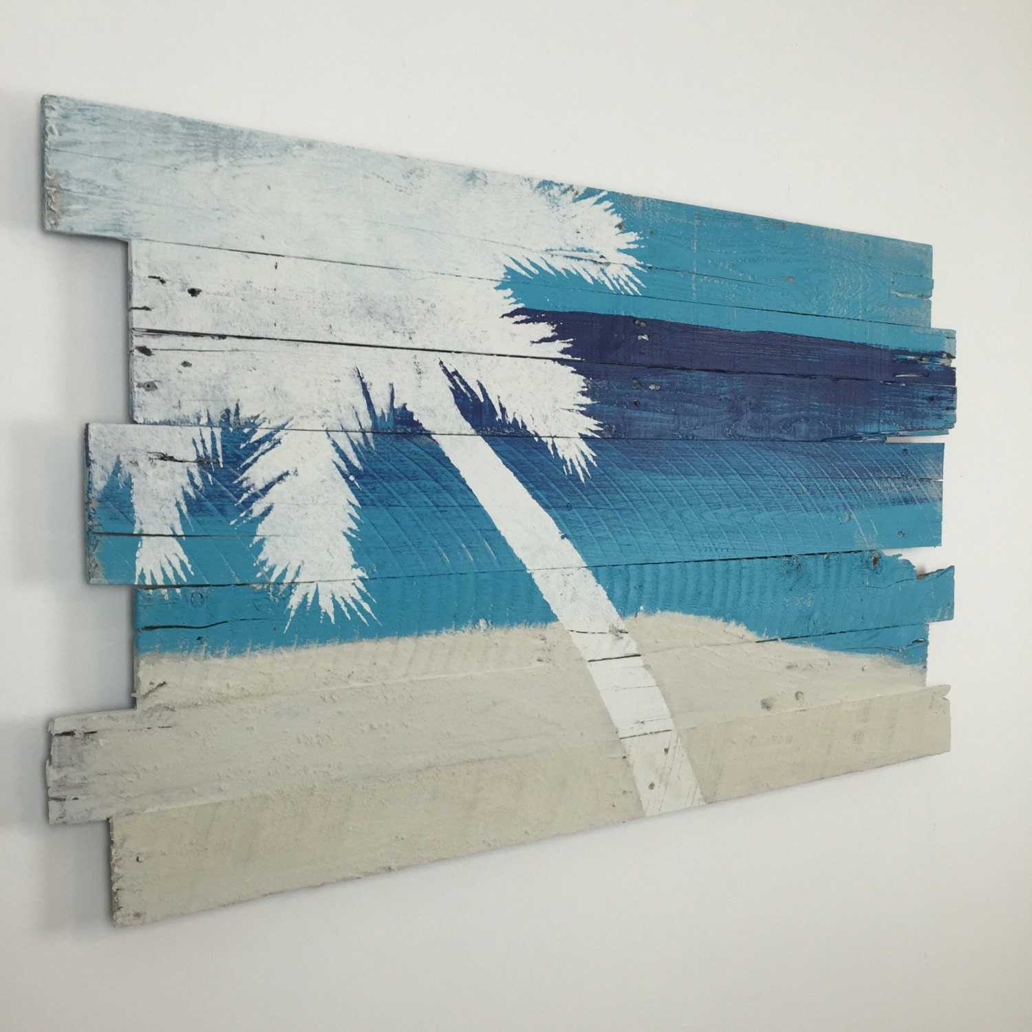 Best Beach Decor Palm Tree On Sky Sea And Sand Tropical Wall This Month