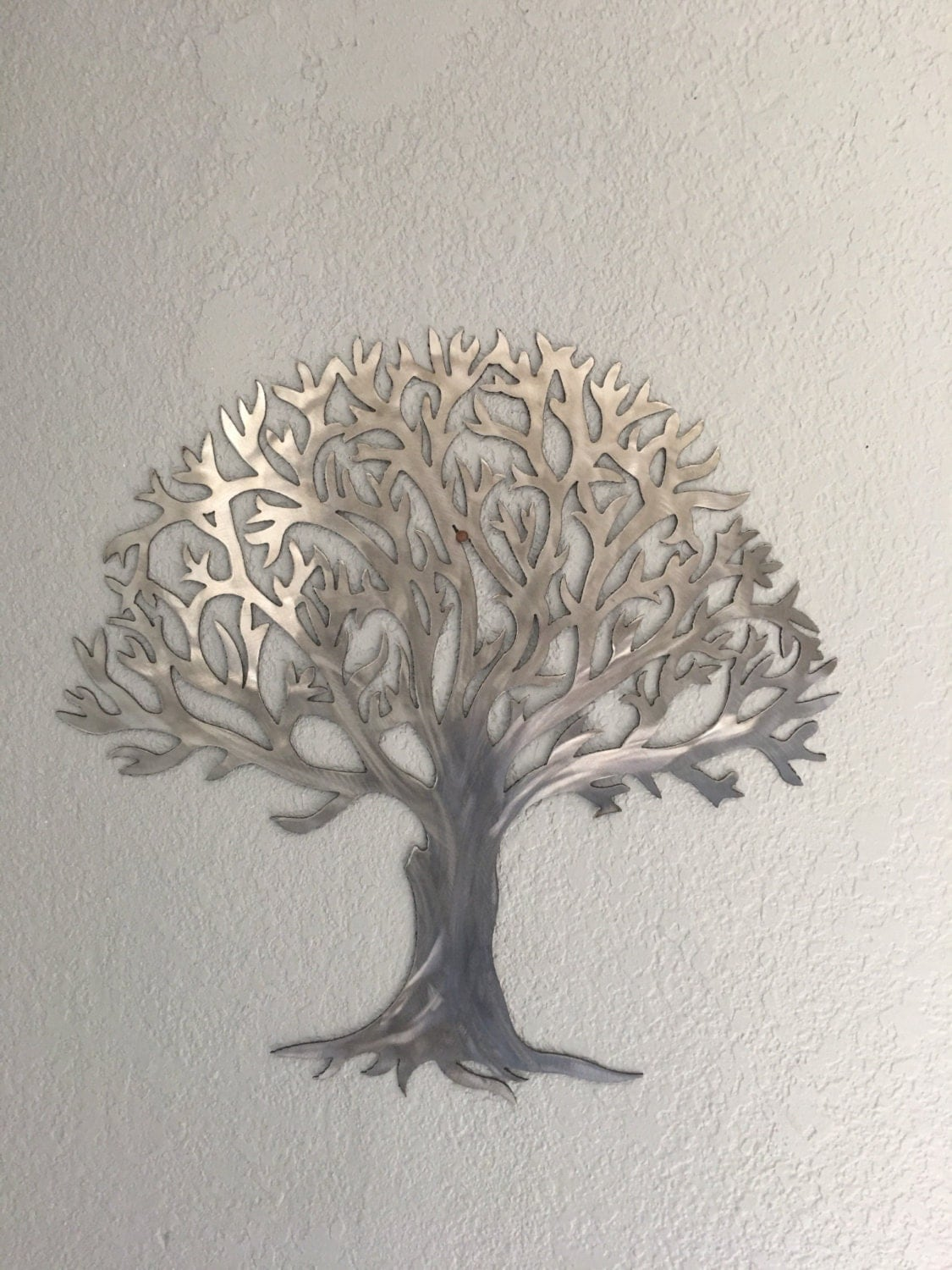 Best Metal Tree Stainless Steel Tree Wall Art Wall Decor This Month