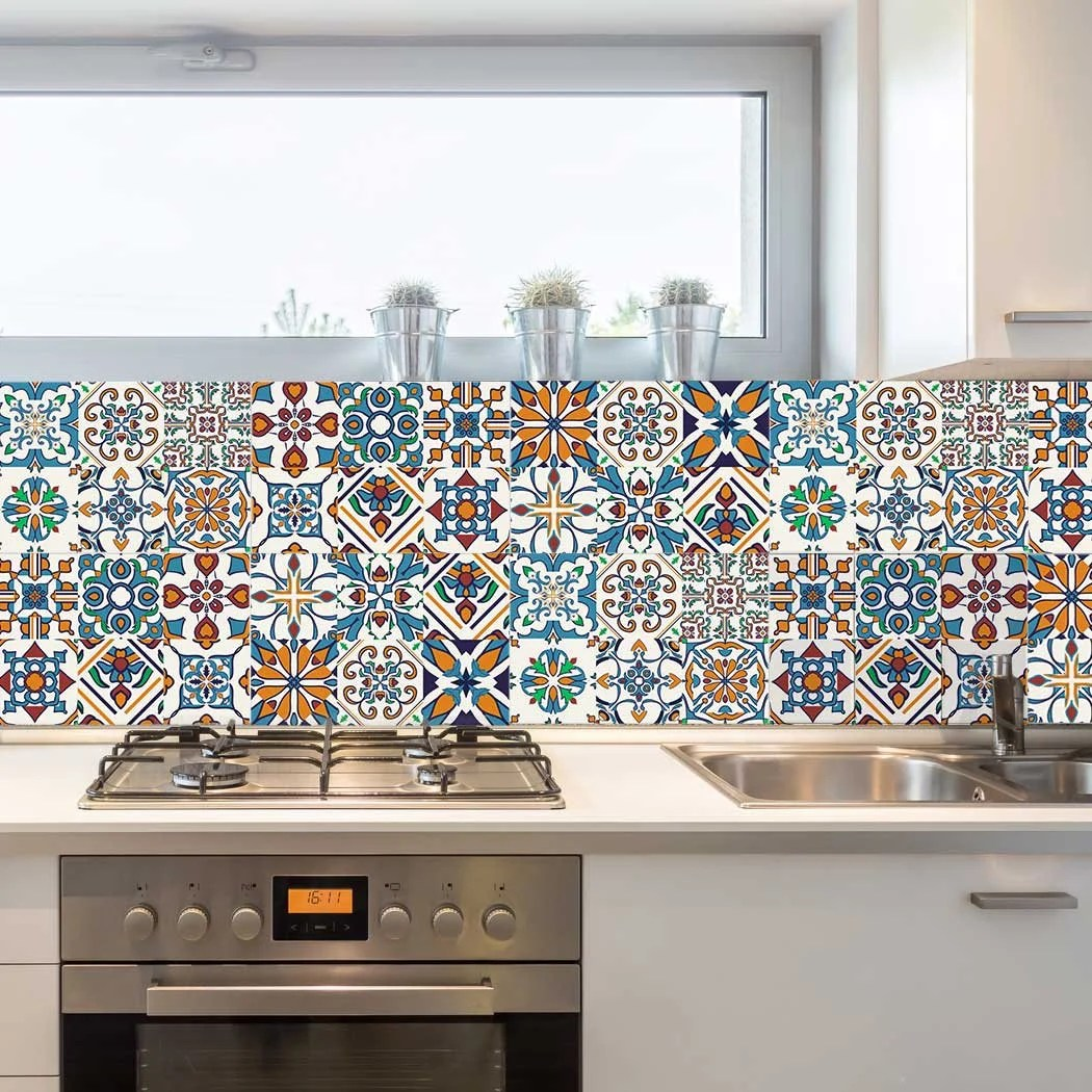 Best Decorative Tiles Stickers Motril Pack Of 16 Tiles Tile This Month
