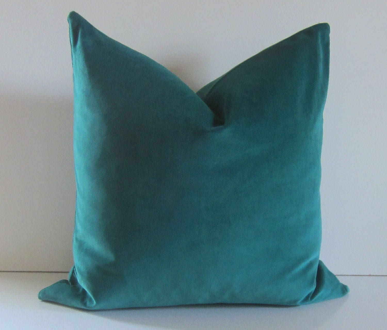 Best Decorative Pillow Cover 20 Inch Teal Velvet Cotton This Month