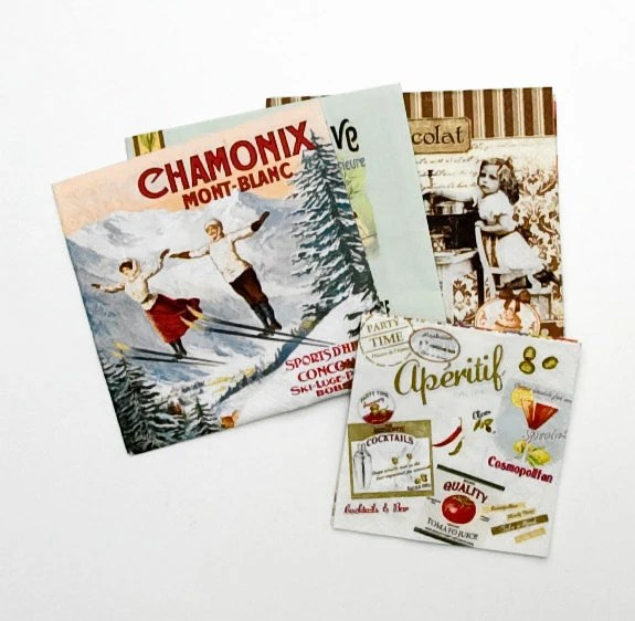 Best Decorative Paper Napkins Vintage Collection Pack Of 10 This Month