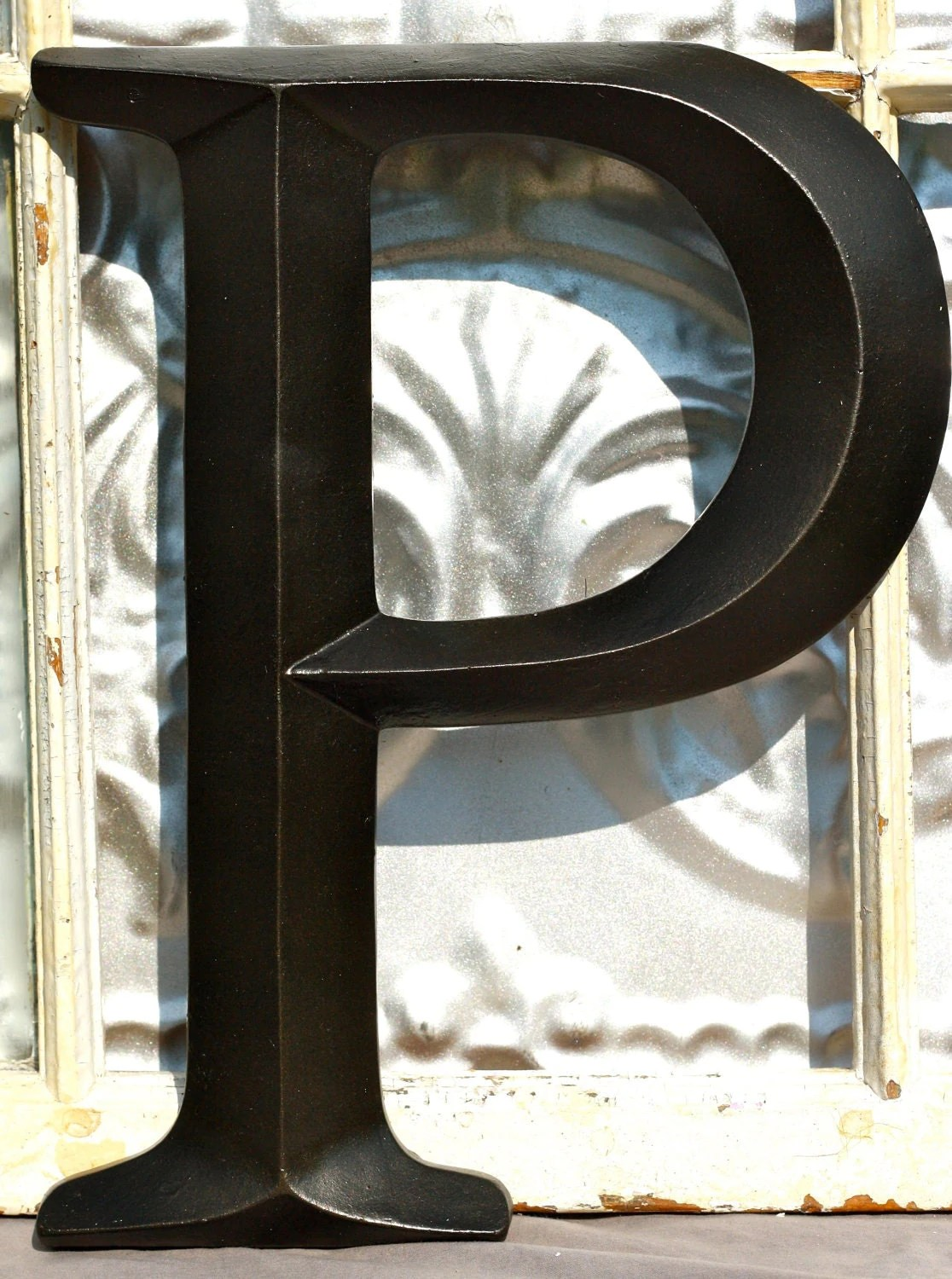 Best Large Letter P Sign Letter Wall Decor By This Month