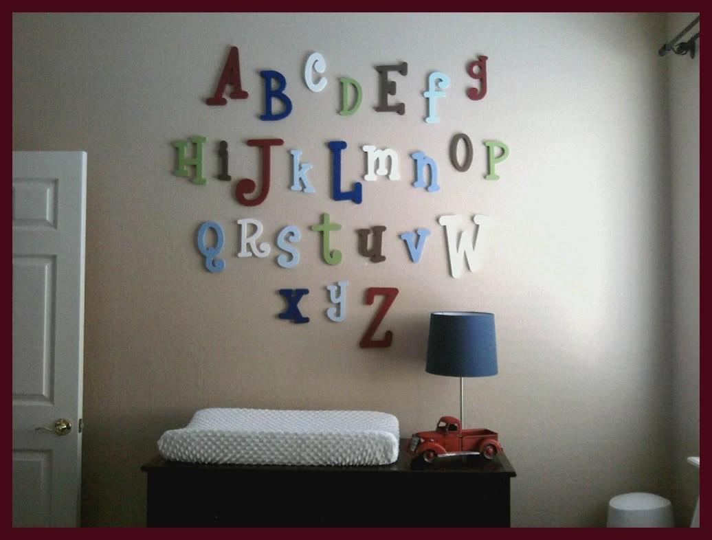 Best Sale Wooden Wall Letters Wooden Alphabet Letters Abc This Month
