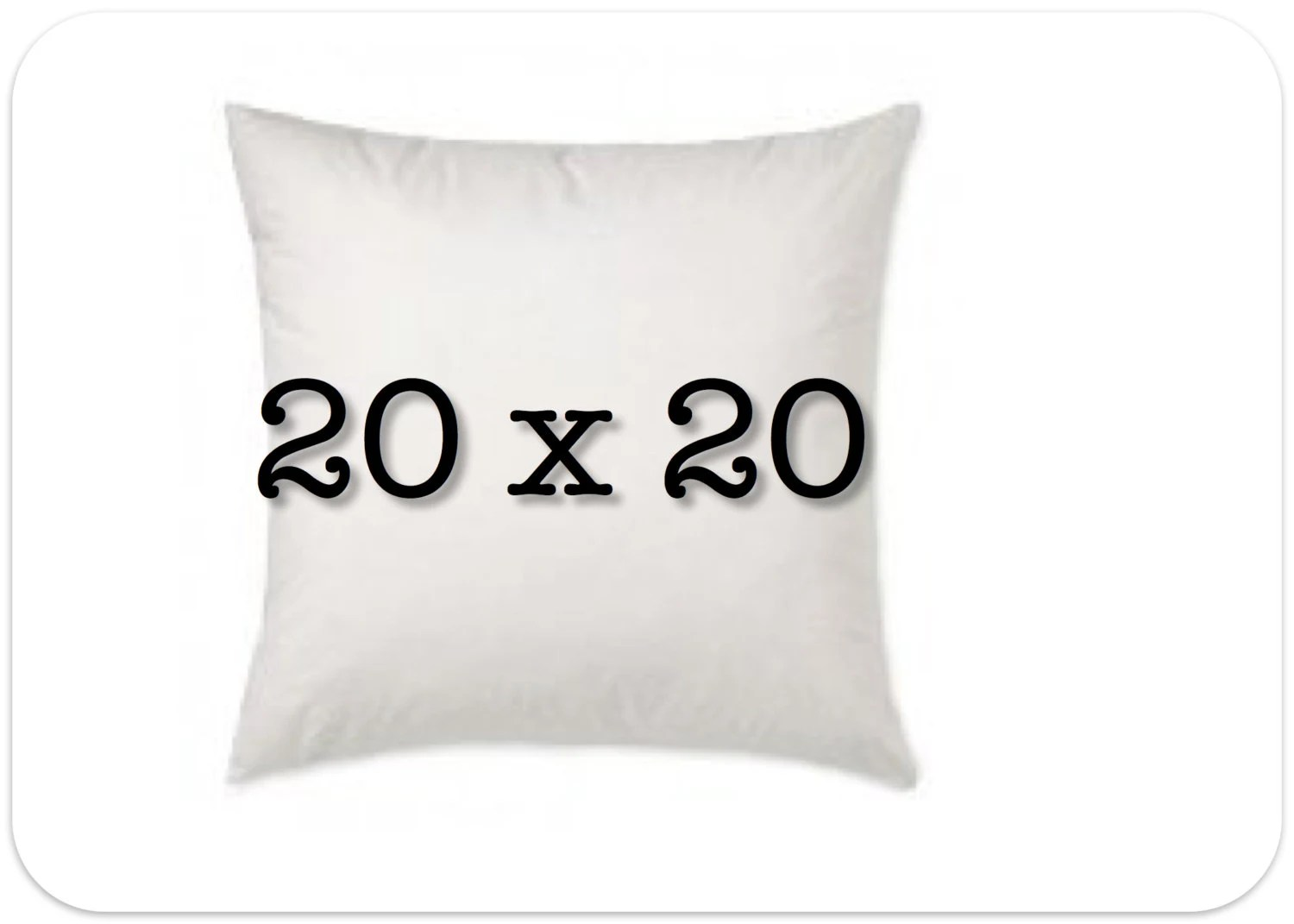 Best Pillow Insert 20 X 20 Decorative Pillow Form By This Month