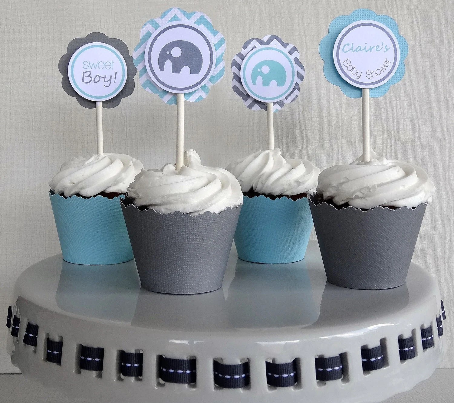 Best Items Similar To Elephant Baby Shower Decorations Boy This Month