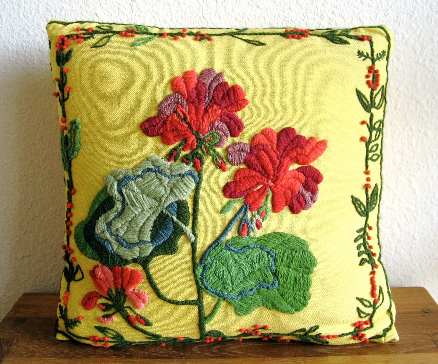 Best Embroidered Throw Pillow This Month