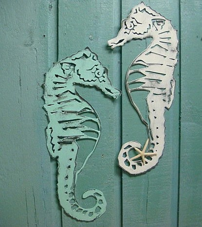 Best Seahorse Sign Metal Wall Art Beach House Decor This Month
