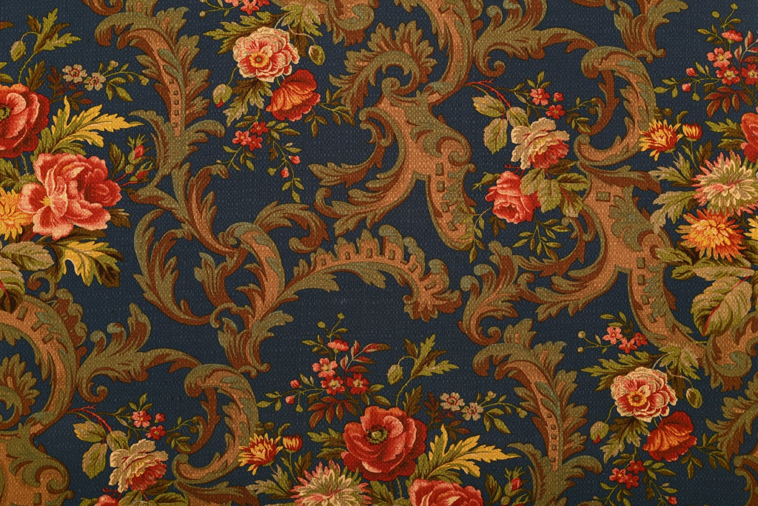 Best Antique Reproduction Home Decor Fabric By The Yard This Month