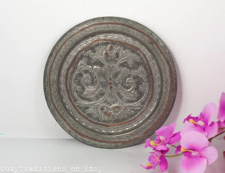 Best Decorative Wall Plate Wall Hanging By Cozytraditions On Etsy This Month