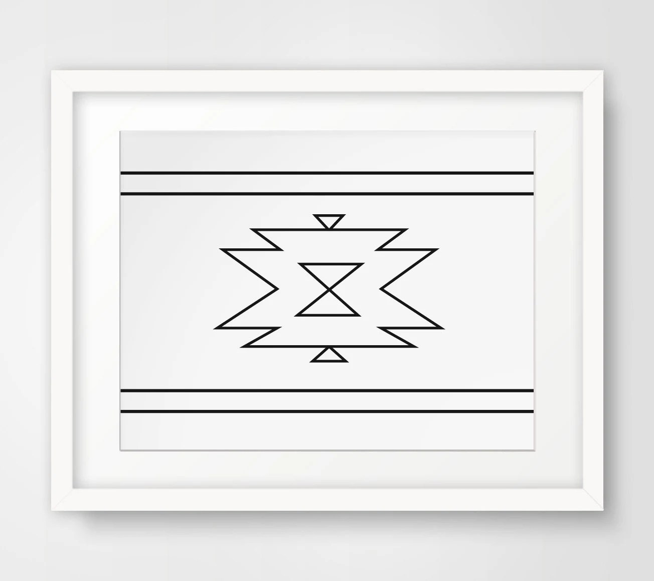 Best Navajo Print Aztec Home Decor Native By Melindawooddesigns This Month