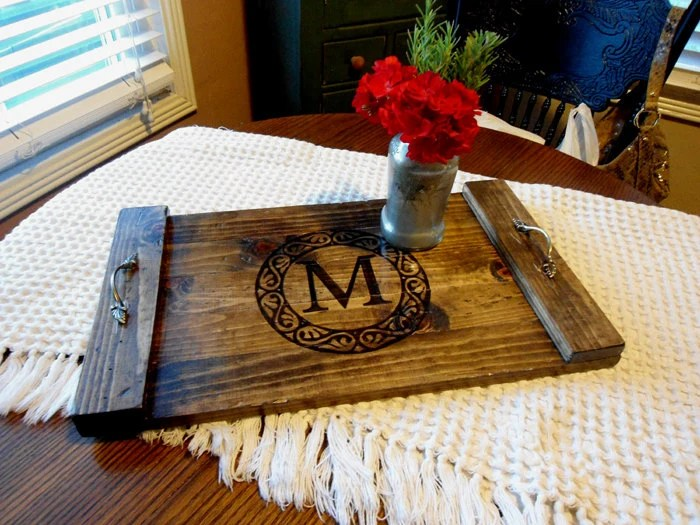 Best Items Similar To Coffee Table Tray Rustic Decorative This Month