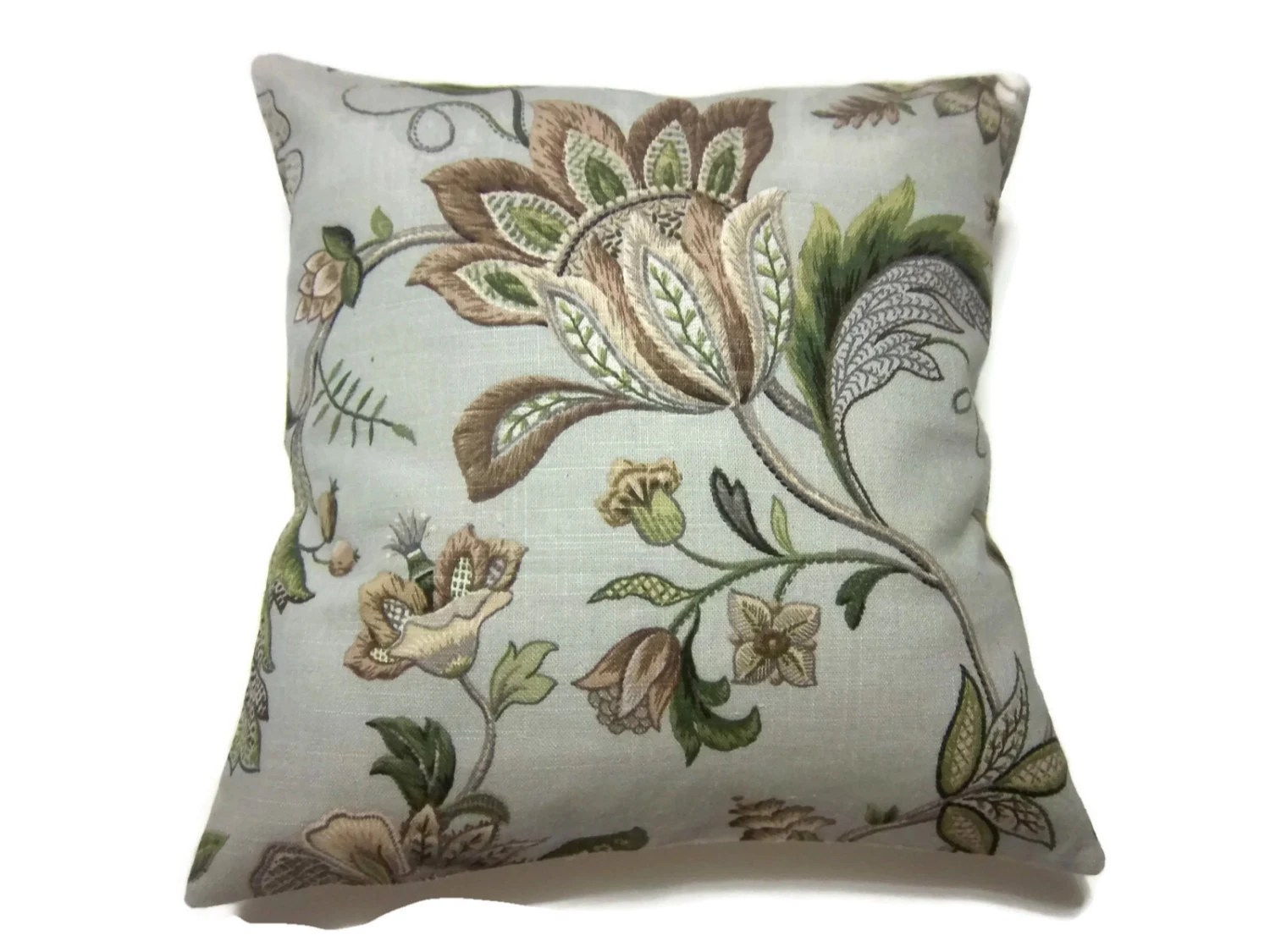Best Decorative Pillow Cover Gray Taupe Olive Green Brown This Month