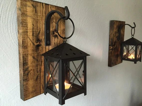 Best Rustic Candle Lantern Sconces Wall Decor Wall Sconce This Month
