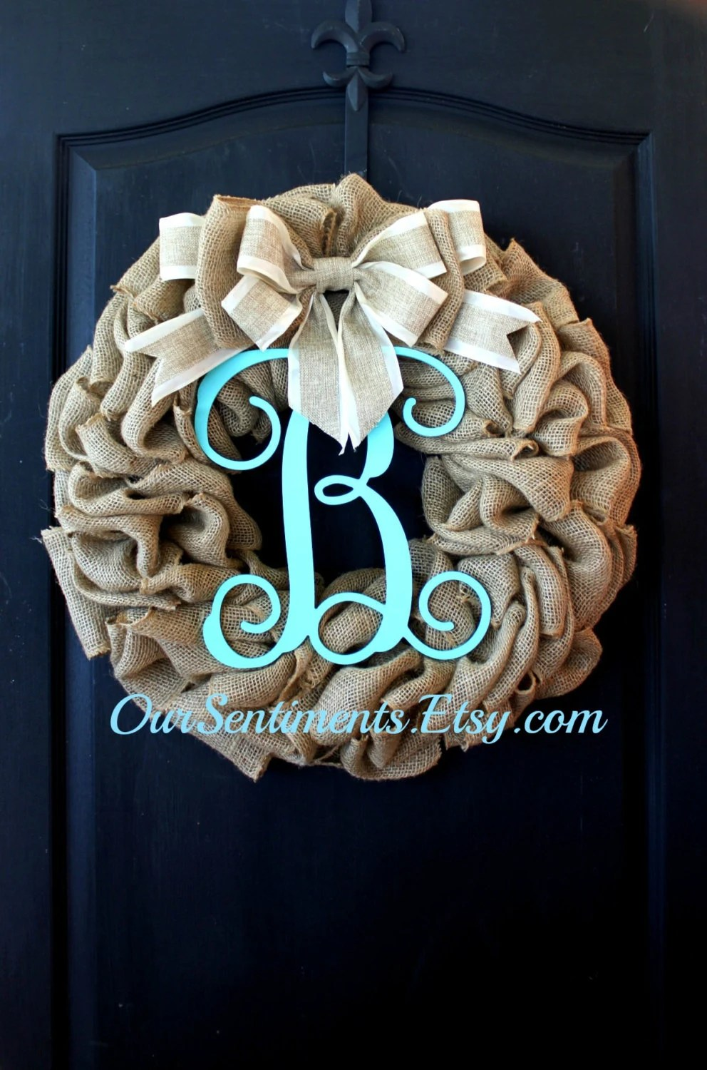 Best Summer Wreath Burlap Wreath Home Decor Etsy Wreath This Month
