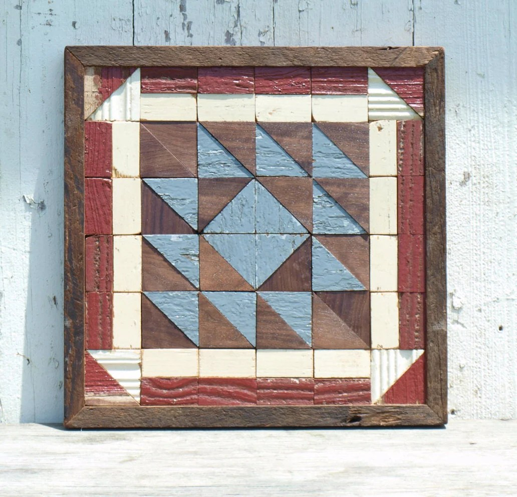 Best Patriotic Barn Quilt Americana Wall Art Rustic Decor This Month
