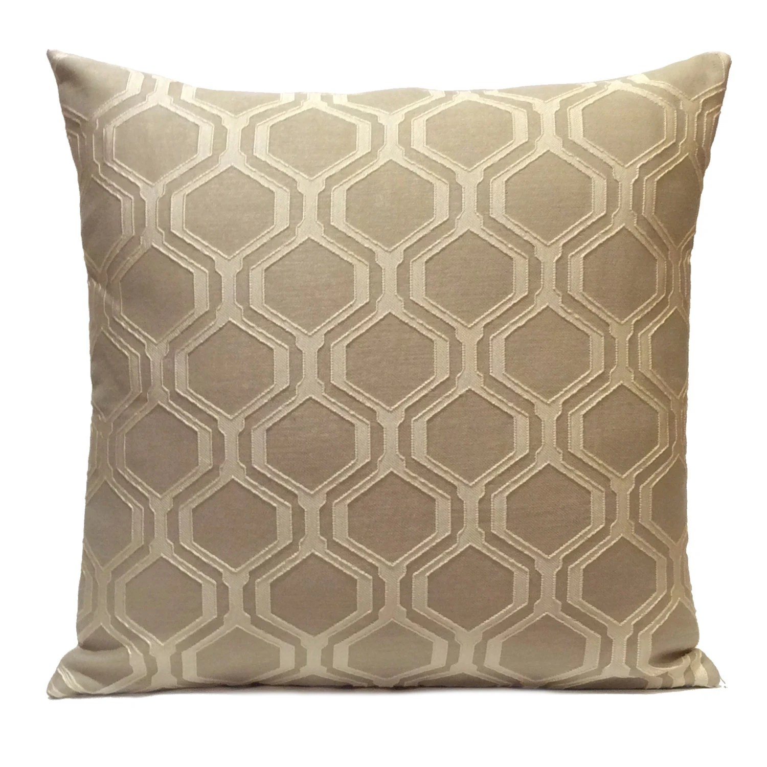 Best Ivory Beige And Light Tan Pillow Throw Pillow Cover This Month