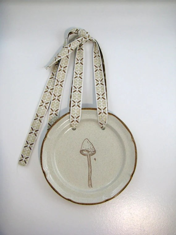 Best Repurposed Decorative Vintage Wall Art Plate Hanger One Of A This Month