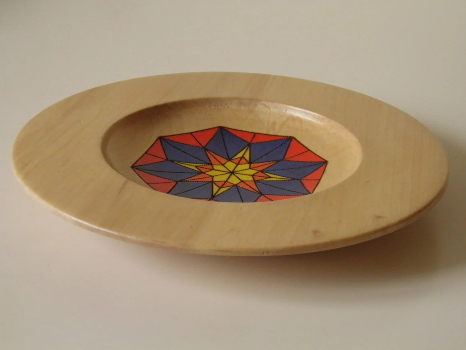 Best Stained Glass Decorative Wooden Plate This Month