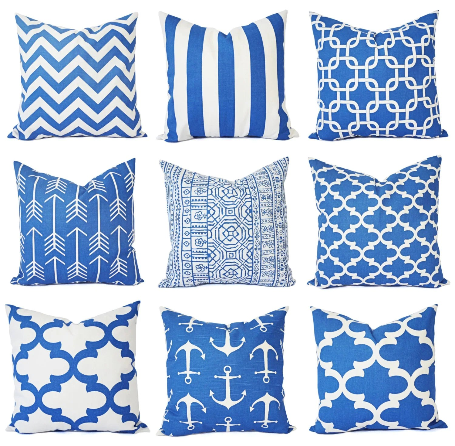 Best Royal Blue Pillow Covers Blue Throw Pillows Throw Pillow This Month