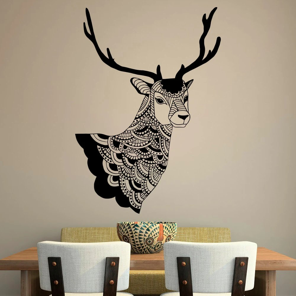 Best Deer Wall Decal Country Wall Decals Vinyl By Fabwalldecals This Month