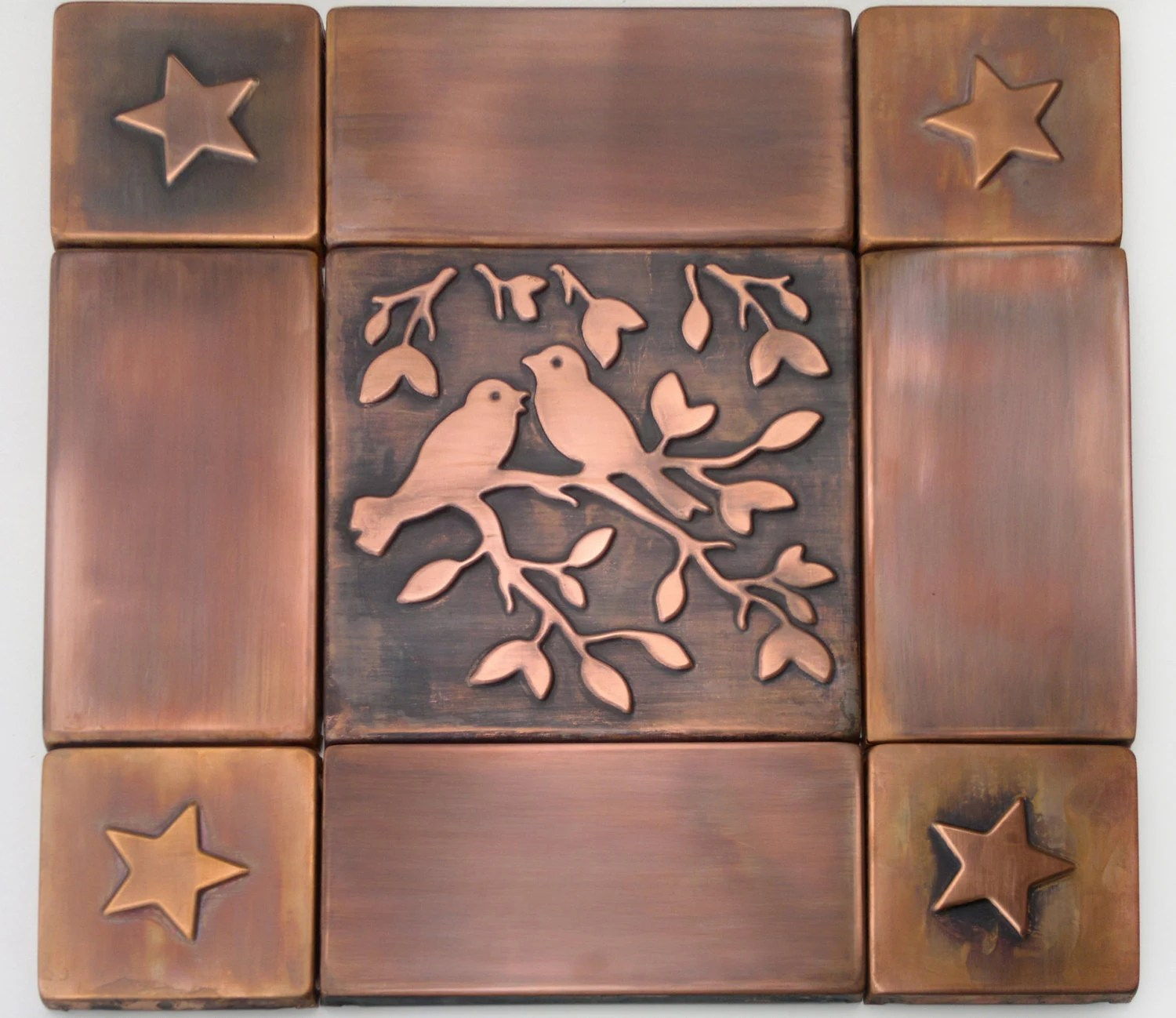 Best Decorative Tiles Copper Tile Metal Tiles Set Copper Tiles This Month