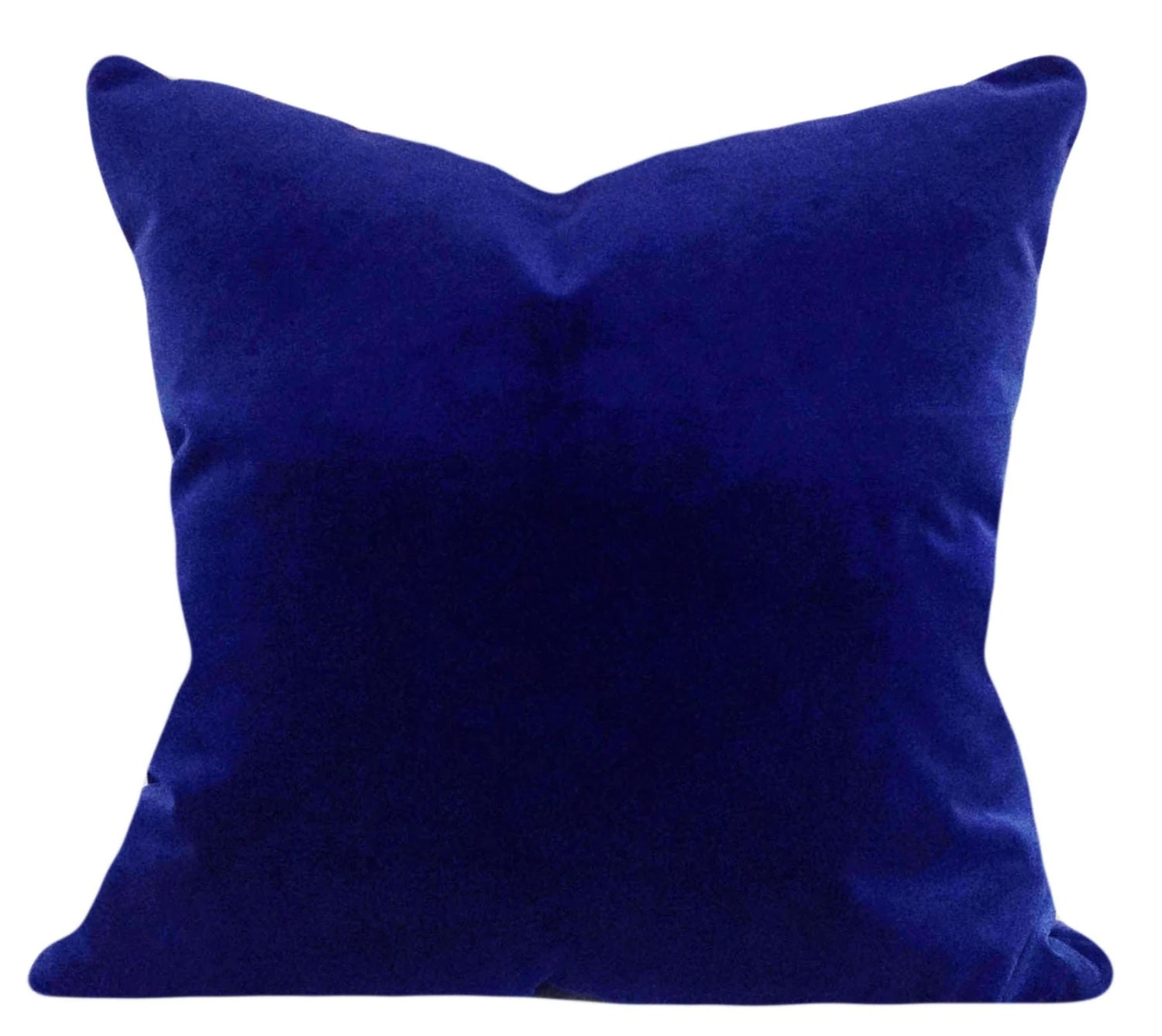 Best Royal Blue Velvet Decorative Pillow Cover By Pillowtimegirls This Month