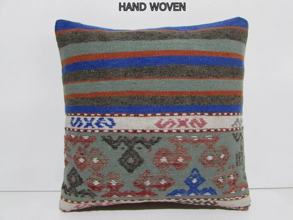 Best Kilim Pillow 18X18 Preppy Kilim Throw Pillow Luxury Couch This Month