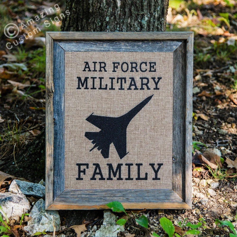 Best Military Home Decor Sign Air Force Military By This Month