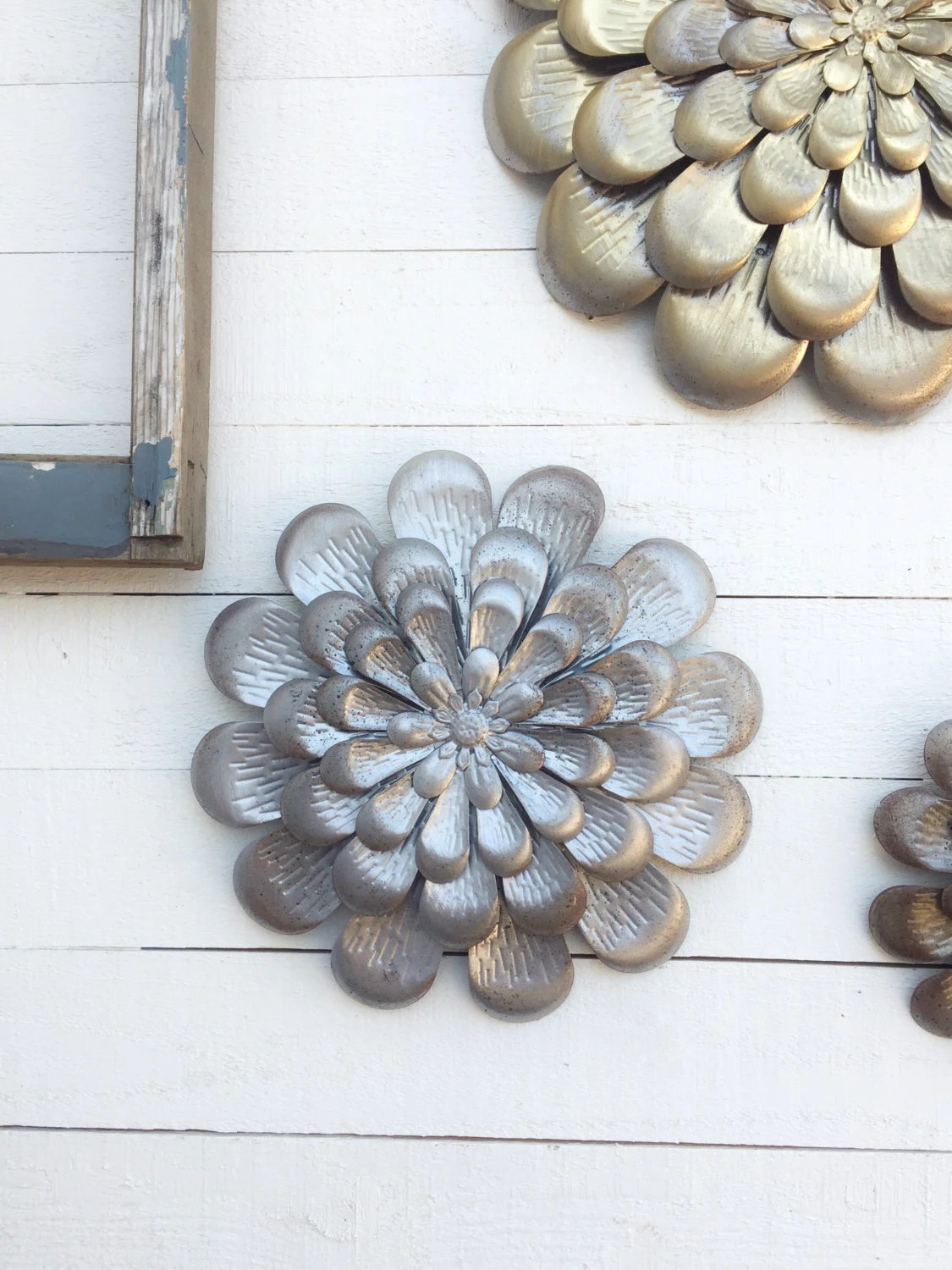 Best Metal Wall Flowers Floral Metal Wall Artmetal Wall Decor This Month